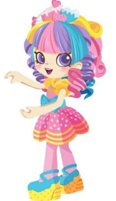 Shopkins Characters, Cute Characters, Shopkins Game, Shopkins Happy Places, Bottle Cap Images, Illustrations, Character Portraits, Cute Little Girls, Cute Illustration