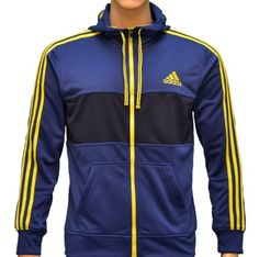 Adidas Men's Climalite Flex Hooded Sweatshirt Jacket-Navy/Slime Green-Small - http://www.styledetails.com/adidas-mens-climalite-flex-hooded-sweatshirt-jacket-navyslime-green-small - http://www.styledetails.com/wp-content/uploads/2013/01/51GEMV3zOdL.jpg