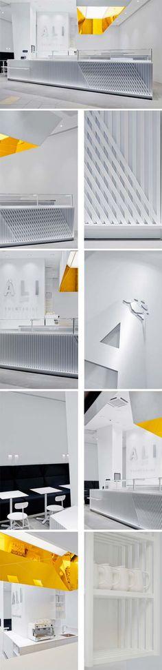 Ali Chocolate Boutique by a01 architektai, Vilnius – Lithuania.
