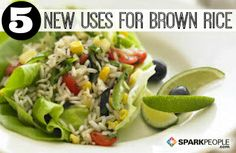 5 New Ways to Use Brown Rice | via @SparkPeople #recipe #food #healthy