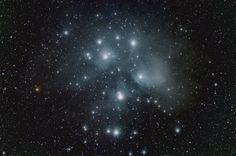 «Скопление Плеяд» - кадр молодого астронома-фотографа Jacob von Chorus