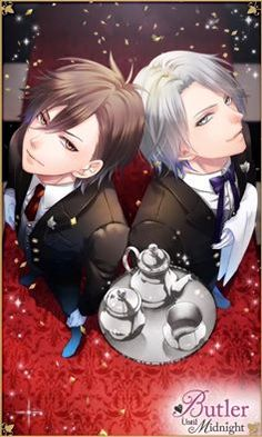 Butler Until Midnight Season 2 Early bird giveaway : Yuma and Aoi CG