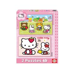 14219 - Puzzle Hello Kitty, 2 x 20 piezas, Educa.  http://sinpuzzle.com/puzzles-infantiles-20-piezas/569-14219-puzzle-hello-kitty-2-x-20-piezas-educa.html