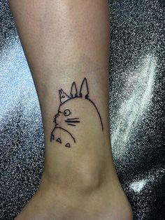 studio ghibli tattoo but on my shoulder