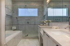 Dwelling U by WayCool Homes: master bath.  Designed by Phil Kean  #philkean  #modernhousedesign