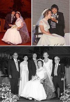 Ken and Joni Eareckson Tada wedding photos!