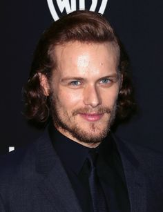 Sam Heughan at the InStyle & Warner Bros. Golden Globes Party 2015
