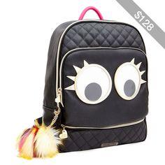 Betsey Johnson Googly Moogly Backpack