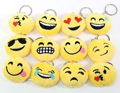 Made of plush which is very soft and comfortable. It very cute and they can be used as Key Chain Strap, or as a plush toy to express yourself. Offering a great variety of emoji key chains so you can ensure that your keys have the greatest possible emoji that any set of keys could …