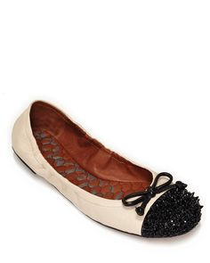 """Sam Edelman """"Beatrix"""" Ballet Flats  ORIG $130.00  SALE $91.00  Bought an exact dupe by Vera Wang at Kohls on clearance for seven dollars.  Woot!"""