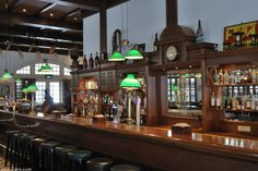 The Long Bar at the Raffles Hotel; get your Singapore Sling action on here