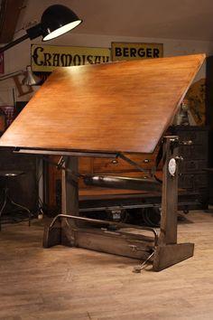 Table à dessin ancienne unic