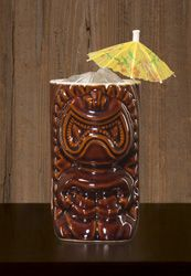 """Rum Crusta Swizzle  3 parts Sailor Jerry 1 part Orange Curacao 1 bar spoon Luxardo Maraschino ½ part fresh lemon juice 1 part orgeat 1 dash Angostura bitters 2 parts ginger beer Glass: Tiki mug or highball Method: Combine ingredients (except ginger beer), shake and strain over fresh (crushed) ice in a tall glass or tiki mug OR Combine ingredients in glass, add crushed ice and """"swizzle"""" top with ice Top with ginger beer"""