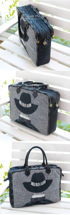 [신사의 수납장 토트백] Gym Bag, Packing, Quilts, Sewing, Bags, Patterns, Bag Packaging, Handbags, Dressmaking