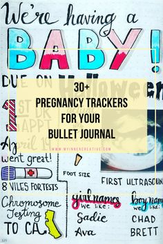 Its a special time! Perfect opportuinity to add it to your bullet journal! SO check out these pregnancy tracker bullet journal ideas Pregnancy Tracker, Pregnancy Planner, Pregnancy Journal, Baby Journal, Pregnancy Diary, Pregnancy Scrapbook, Pregnancy Books, Pregnancy Crafts, Pregnancy Information