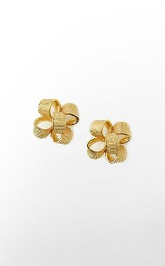 Critter Earrings in Gold Metallic Present Hardware $38 (w/o 11/24/12) #lillypulitzer #fashion #style