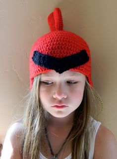 Crabby Cardinal Hat ~ Free Pattern