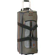 54c5c3f889e Timberland Jay Peak 24 Inch Wheeled Duffle Duffel Bag, Travel Luggage,  Timberland, Jay