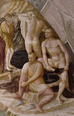 affresco-Tommaso di Cristofano, Masolino da Panicale Battistero, 1434-1435