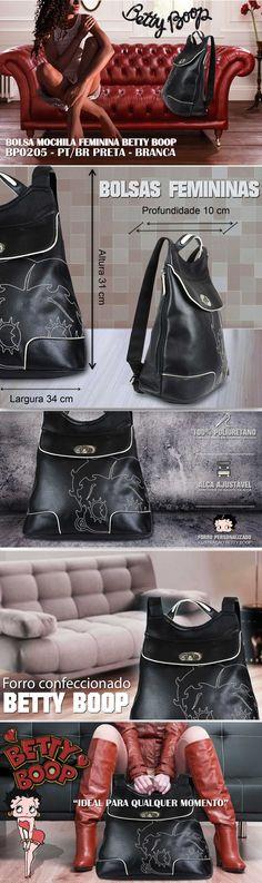 Bolsas femininas Betty Boop. A maior variedade de bolsas, malas e mochilas da internet em um só lugar. Pensou em bolsa, pensou EllaStore. A sua loja de bolsas da internet