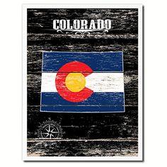 Colorado Flag State Make A Great Decoration Custom Made Gift Ideas Office Home Wall Décor Livingroom Art Interior Design AllChalkboard http://www.amazon.com/dp/B00Y3PMCSG/ref=cm_sw_r_pi_dp_fKXIvb1PXRWM6