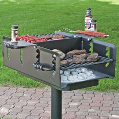 Pilot Rock Shelterhouse Grill — 600 Sq. In., Model# N2-2032 B2 | Northern Tool + Equipment