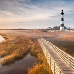 Bodie Island Lighthouse is a Lighthouse in Nags Head. Plan your road trip to Bodie Island Lighthouse in NC with Roadtrippers.