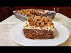 Εύκολο γλυκό με 4 υλικά!! - YouTube Happy Foods, Greek Recipes, 4 Ingredients, Easy Desserts, Tiramisu, Sweet Treats, Food And Drink, Ice Cream, Sweets