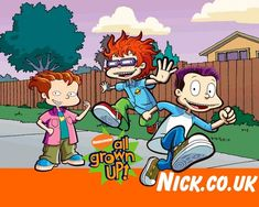 Rug Rats All Grown Up - rugrats-all-grown-up Wallpaper Rugrats All Grown Up, Cartoon Shows, Cartoon Clip, Hippie Wallpaper, Tv Land, Por Tv, Classic Tv, Animated Gif, Favorite Tv Shows