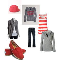 Mix and Match Casual, created by lindsay-waite-sanders on Polyvore