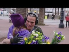 """Look what happened when the Society of American Florists literally """"hit the road"""" to spread the stress-relieving power of flowers! Mobiles, Happy Emotions, Life Satisfaction, Social Behavior, How To Relieve Stress, Positivity, Florists, Shit Happens, Feelings"""