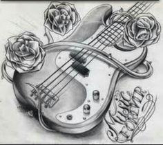 I love guitar and I love tattoos.