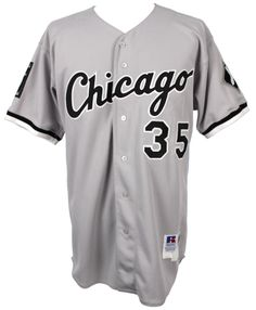 1995 Frank Thomas Chicago White Sox road Jersey
