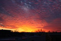 Sunset in DG