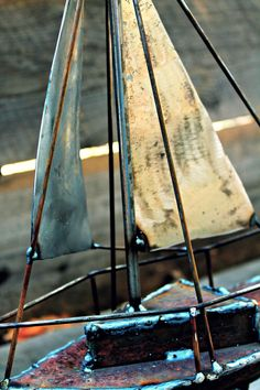 We learn so much from our customers - this week - sailboats! #Gatski Sculpture