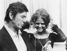 Charles Bronson and Claudia Cardinale