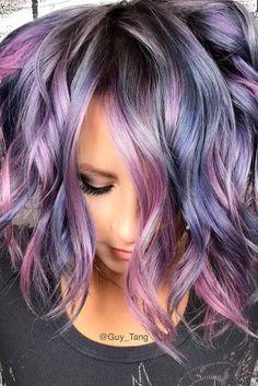 Nouvelle Tendance Coiffures Pour Femme 2017 / 2018 15 Options magnifiques pour Purple Ombre Hair Êtes-vous assez audacieux pour ombre mauve