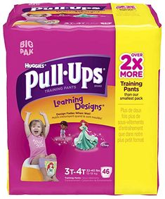Huggies Pull-Ups Learning Designs Training Pants - Girls - 3T-4T - 46 ct Review