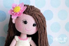 Mirra the doll crochet pattern pdf in English by MyCroWonders
