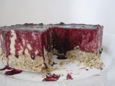 Raw 'cheese'cake. YUM!