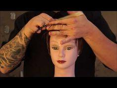 Corte Curto by Edison Hordan - Passo a passo Corte Curto - Pixie Hair Cut - YouTube