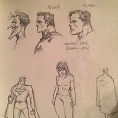 Comic Book Artists, Comic Artist, Comic Books, Jim Lee Batman, Batman And Superman, Superman Poster, Jim Lee Art, Joker Drawings, Comic Face