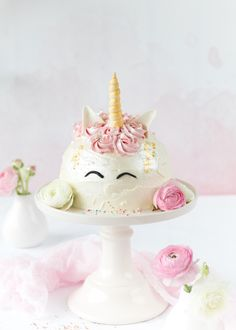 Emma's Lieblingsstücke |Einhorn-Torte *Zum Bloggeburtstag von Feines Handwerk*