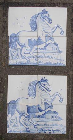 Steigerend paardje op 4 tegels. Wat is de beste? Art, Art Background, Kunst, Gcse Art, Art Education Resources, Artworks