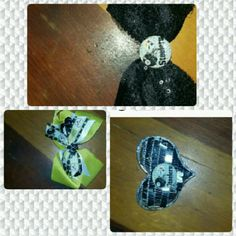 ?? Handmade Pittsburgh Steelers hair bows ?? These are hand made hair bow clips Accessories Hair Accessories