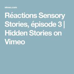 Réactions Sensory Stories, épisode 3   Hidden Stories on Vimeo