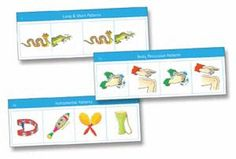 """LET'S MAKE MUSIC CARDS: Set 2: Patterns for Voice, Body Percussion, Rhythm Instruments - 24 laminated flashcards per set, with activity sheet. 9"""" x 6"""".  Coordinates with Music Works Curriculum"""