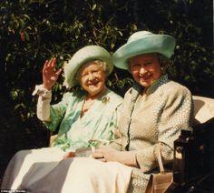 Queen Elizabeth & Queen Mother