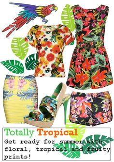 tropical clothes