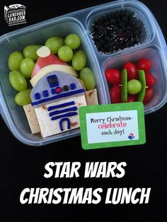 Learn to make a Star Wars Christmas Bento Lunch in honor of the Force Awakens!